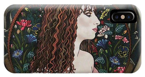 Barbra's Garden IPhone Case