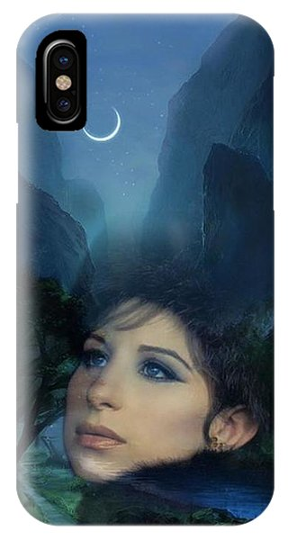 Barbra's Smiling Moon IPhone Case