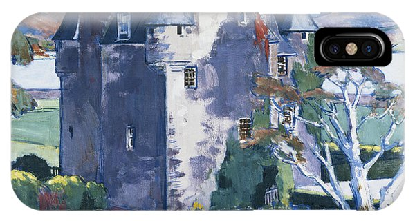 20th iPhone Case - Barcaldine Castle by Francis Campbell Boileau Cadell