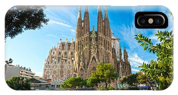Barcelona - La Sagrada Familia IPhone Case