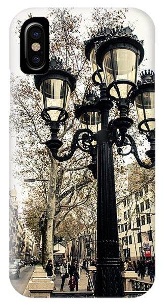 Barcelona - La Rambla IPhone Case