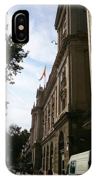 Barcelona Street IPhone Case