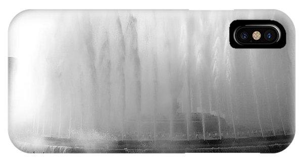 Barcelona Water Fountain Joy IPhone Case