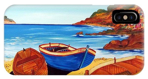 Barche Siciliane IPhone Case
