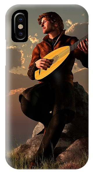 Bard With Lute IPhone Case