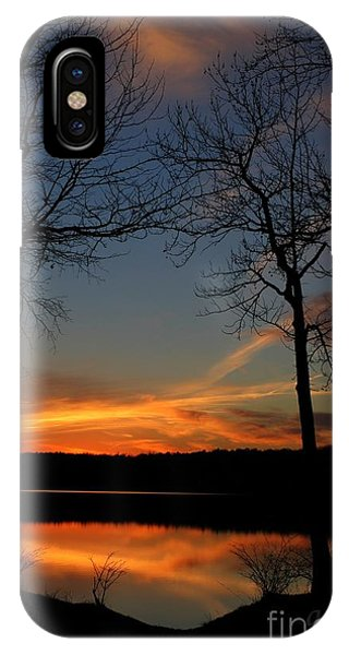 Bare Trees Vertical IPhone Case