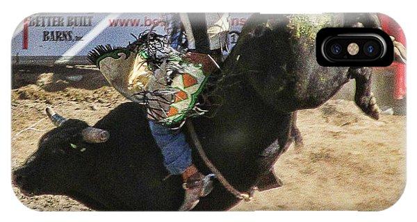 Bareback Bull Riding IPhone Case