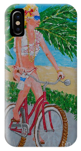 Barefoot Beach Crusing  IPhone Case