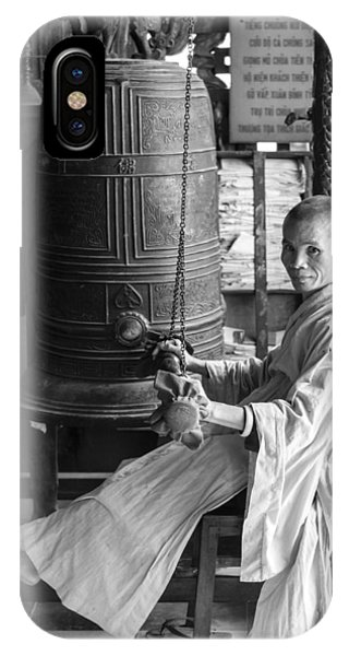 Barefoot Buddhist Monk IPhone Case