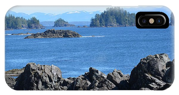 Barkley Sound And The Broken Island Group Ucluelet Bc IPhone Case