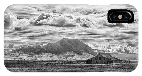 Barn And Bear Butte IPhone Case