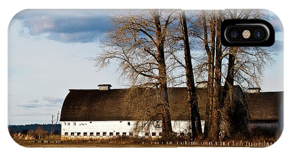 Barn And Trees IPhone Case