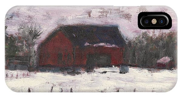 Barn At Myles Acres IPhone Case