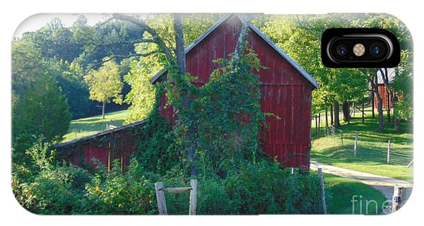 Barn At Piney River IPhone Case