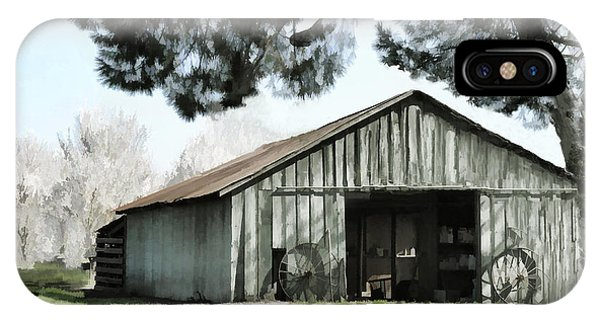Barn At Vina Winery IPhone Case