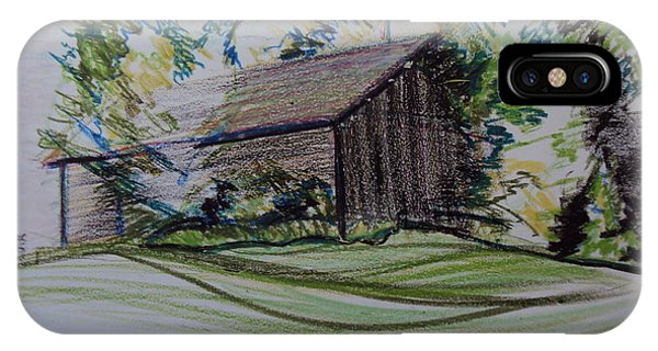 Old Barn At Wason Pond IPhone Case