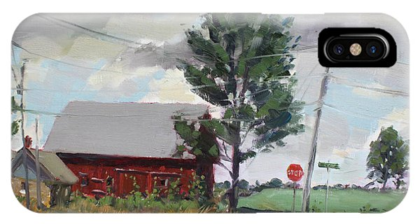 Barn iPhone Case - Barn By Lockport Rd by Ylli Haruni