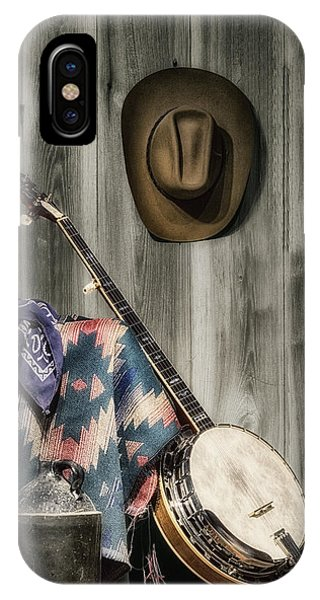 Whiskey iPhone Case - Barn Dance Hoe Down by Tom Mc Nemar