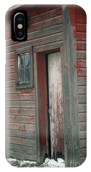 Barn Door IPhone Case