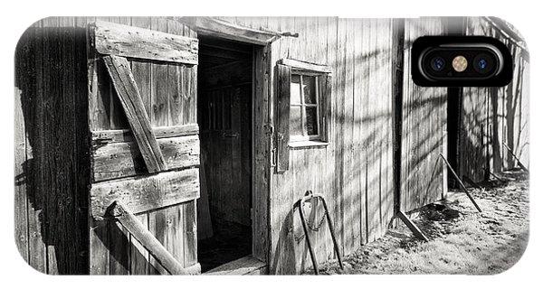 Barn Doors IPhone Case