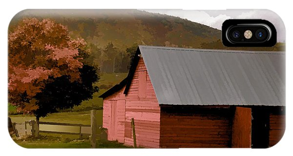 Barn In Vermont IPhone Case