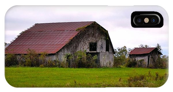 Barn Of Appalachian Alabama IPhone Case