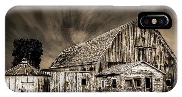 Barn On Hwy 66 IPhone Case