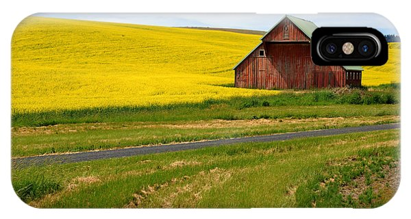 Barn On The Palouse No.2 IPhone Case