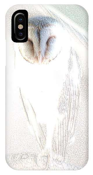 iPhone Case - Barn Owl by Holly Kempe