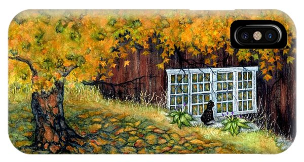 Barn Window Reflections IPhone Case