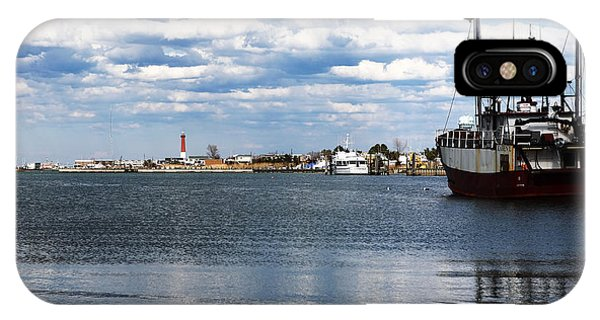 Barnegat Bay Side IPhone Case