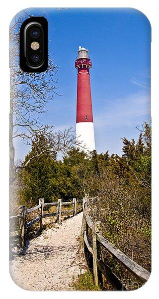 Barnegat Lighthouse II IPhone Case