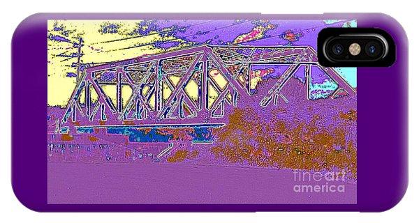 Barnes Ave Erie Canal Bridge IPhone Case
