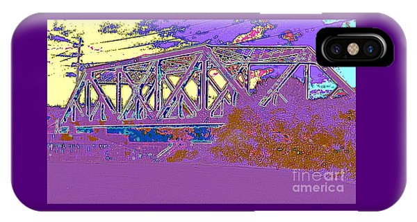 Barnes Ave Erie Canal Bridge IPhone Case