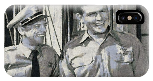 Barney Fife And Andy Taylor IPhone Case