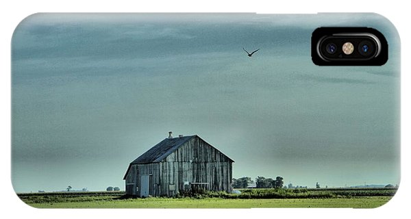 In Flight iPhone Case - The Flight Home by Dan Sproul
