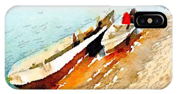 Barques Sur Le Chari IPhone Case