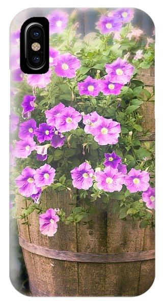 Barrel Of Flowers - Floral Arrangements IPhone Case