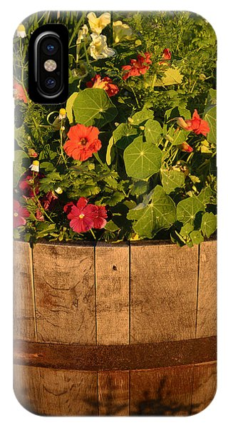 Barrel Of Flowers IPhone Case