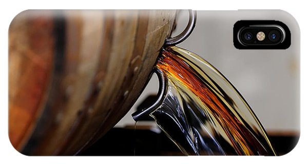 Whiskey iPhone Case - Barrel Pour by Lone Dakota Photography