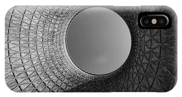 Metal iPhone Case - Barrel Sky by Jure Kravanja