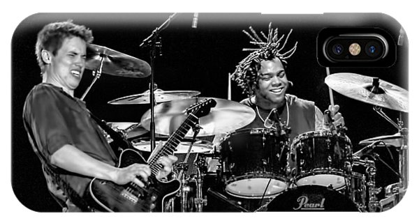 Barry Alexander Drumming For Johnny Lang IPhone Case