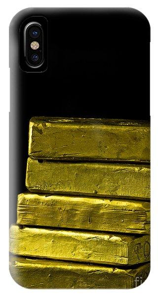 Edward iPhone Case - Bars Of Gold by Edward Fielding