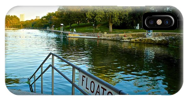 Barton Springs Pool In Austin Texas IPhone Case