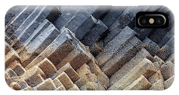 Basalt iPhone Case - Basalt Columns by Alex Hyde