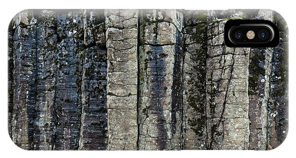 Basalt iPhone Case - Basalt Columns by Dr Juerg Alean