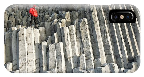 Basalt iPhone Case - Basalt Columns by Jeremy Walker