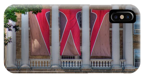 Bascom Hall-on Wisconsin IPhone Case