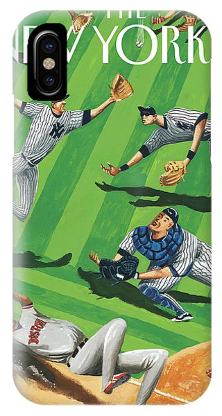 Baseball Ballet IPhone Case