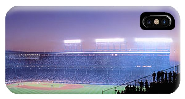 Baseball, Cubs, Chicago, Illinois, Usa IPhone Case